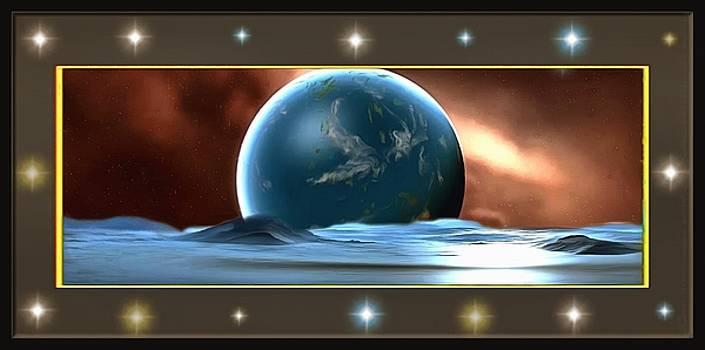 Neptune Solitude by Mario Carini