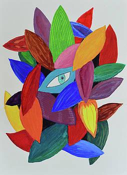 Nested Eye by Lisa Von Biela