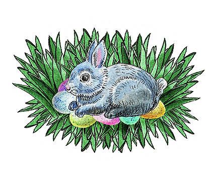 Nesting Easter Bunny by Irina Sztukowski
