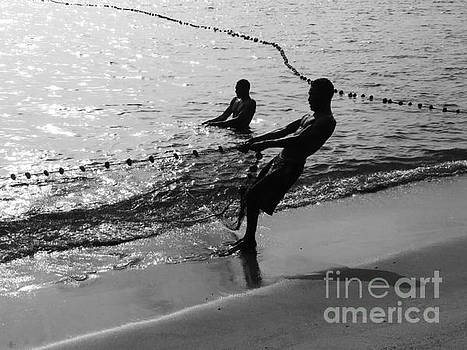 Net Fishing 1 by Mioara Andritoiu