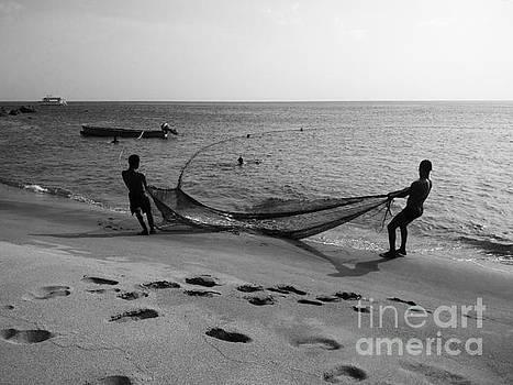 Net Fishing by Mioara Andritoiu