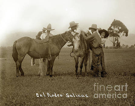 California Views Mr Pat Hathaway Archives - Nettie Hawn and California Rodeo Salinas circa 1913
