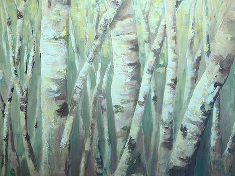 Neutral Forest by Kathy Brusnighan