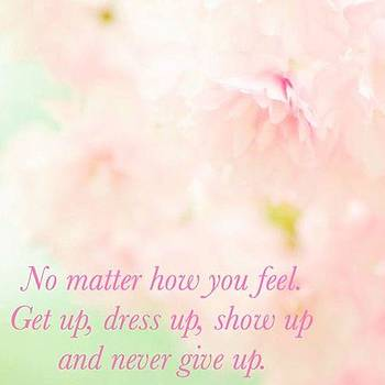Never Give Up by Kimberly Landry