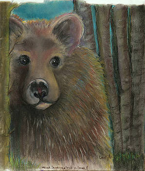 Never Surprise a Peek-a-Bear by Carol Jobe