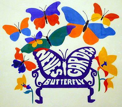 Neves' Butterfly Garden by Stephen Davis