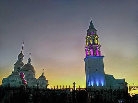 Nevyansk inclined tower by Tatiana Tyumeneva