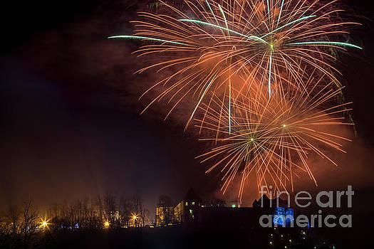 Vyacheslav Isaev - New 2017 Year fireworks, Ljubljan