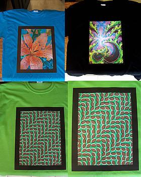 New Art Shirts by Nino  B
