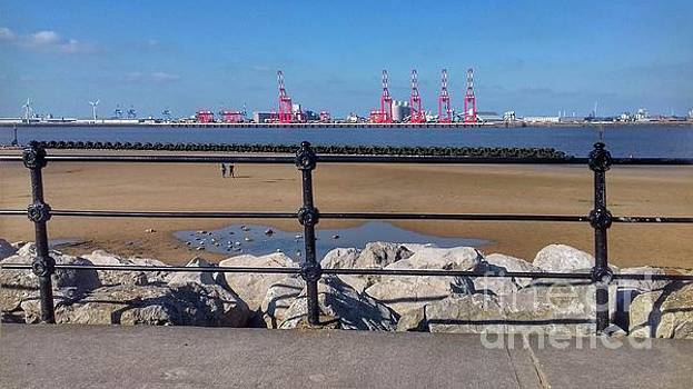 New Brighton Rocks by Joan-Violet Stretch