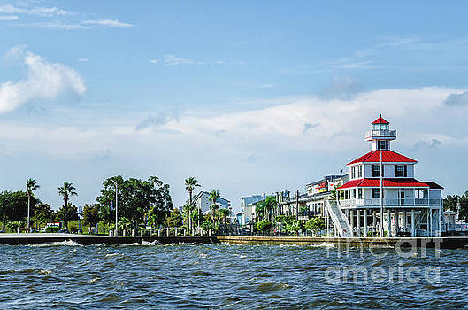Kathleen K Parker - New Canal Lighthouse and Lakefront - NOLA