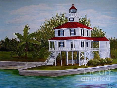 New Canal Lighthouse by Valerie Carpenter