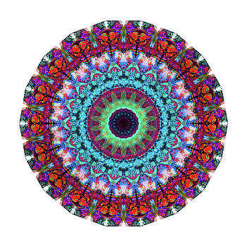 Sharon Cummings - New Dawn Mandala Art - Sharon Cummings