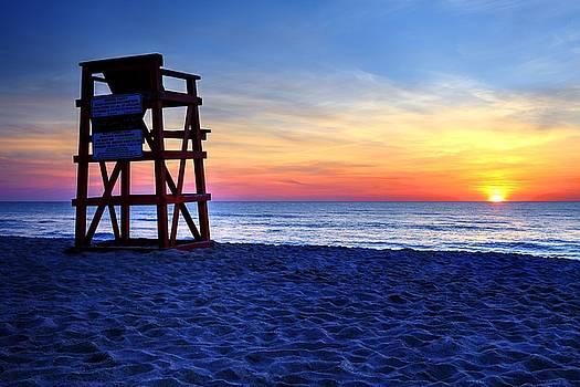New Day On The Beach by Carol Montoya