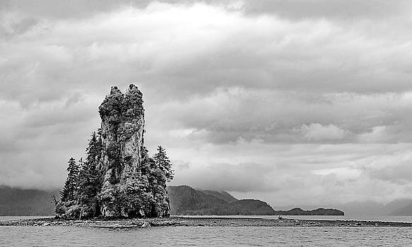 New Eddystone Rock #2 by Peter J Sucy