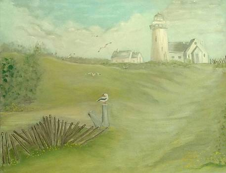 Ilona MONTEL - New England Coastal Scene