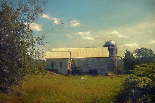 New England Farm by John Rivera