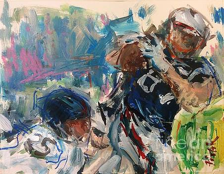 New England Patriots by Russ Potak