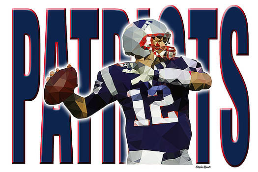 New England Patriots by Stephen Younts