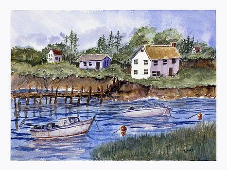 New England Shore - Marine Art by Barry Jones
