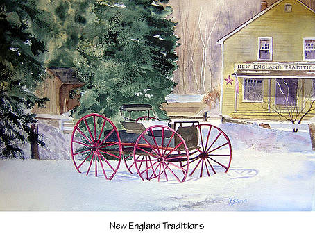 New England Traditions by Katherine  Berlin
