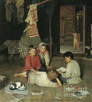 Nikolay Petrovich-Belsky - New Fairy Tale