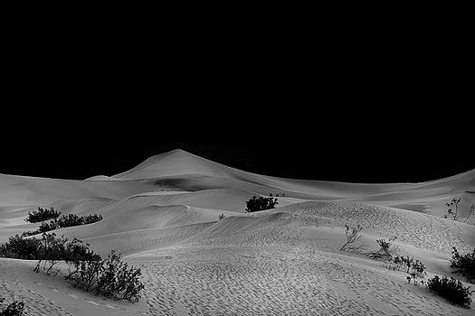 Mesquite Flat Sand Dunes by Gej Jones