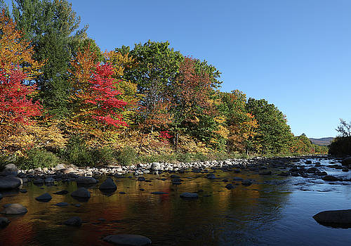 New Hampshire River by John Clark