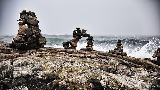 New Hampshire Rock Art by Sleepy Weasel