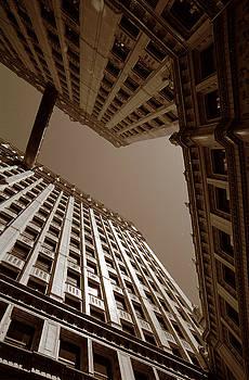 New Heights - Wrigley Building - Chicago by Dmitriy Margolin