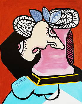 New I Lost My Head  Picasso by Nora Shepley