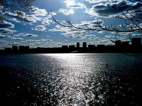 New Jersey over the Hudson by Katie Victoria