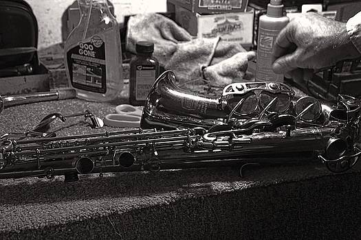 New Life for a Old Saxophone by Roland Peachie