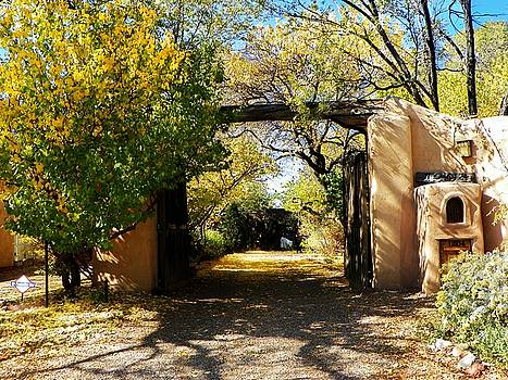 New Mexico Adobe by Joseph Frank Baraba