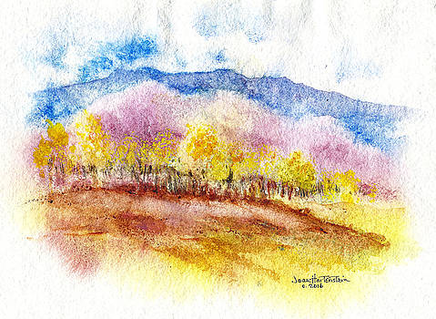 New Mexico Fall by Joan Hartenstein