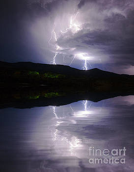 Jerry McElroy - New Mexico Lightning Storm
