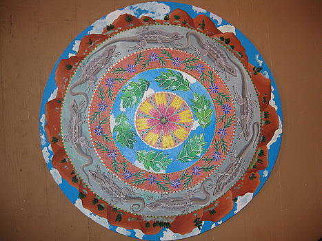 New Mexico Mandala by Amanda  Lynne
