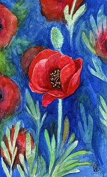 New Mexico Poppy by Carrie Auwaerter