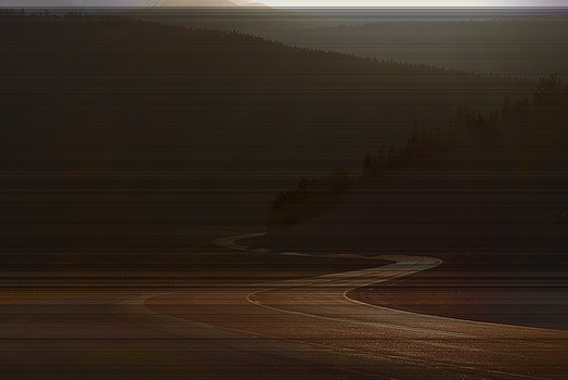 New Mexico Road by Jim Wright