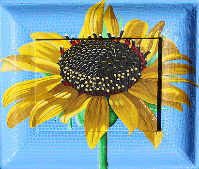 New Mexico Sunflower by Amanda  Lynne