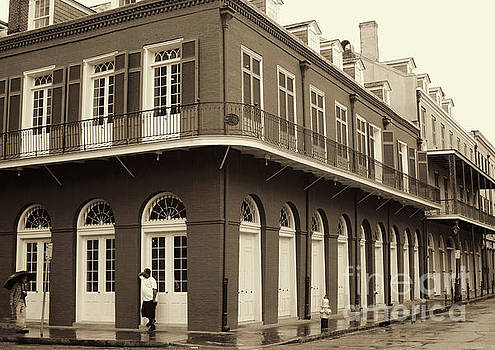 Chuck Kuhn - New Orleans Architecture Sepia