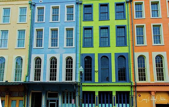 New Orleans buildings by Craig Perry-Ollila