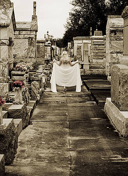 New Orleans Cemetery Mystic Creature by Shawn McElroy