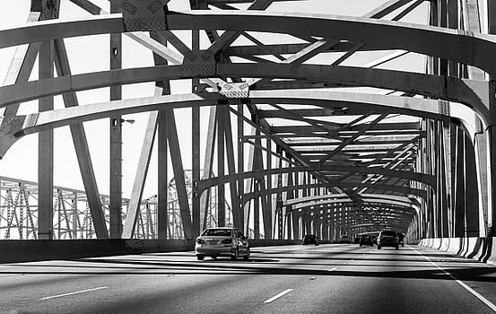 New Orleans Crescent City Connection Bridge by Sunman Studios