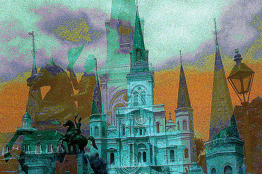 Peter Potter - New Orleans Fantasy Collage