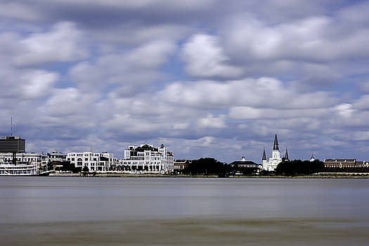 Chris Coffee - New Orleans From Algiers Point - in color