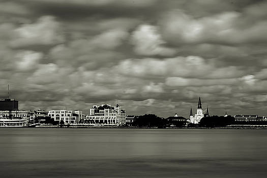 Chris Coffee - New Orleans From Algiers Point - In Quadtone