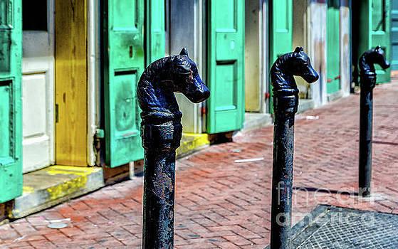 Kathleen K Parker - New Orleans Horse Head Posts