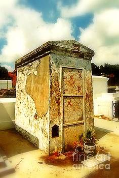 New Orleans Marie Laveau Tomb In St. Louis Cemetery No 1 by Michael Hoard