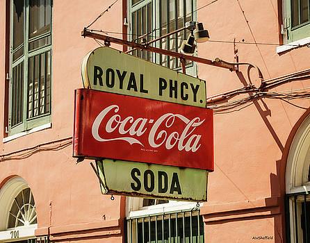 Allen Sheffield - New Orleans - Pharmacy Sign